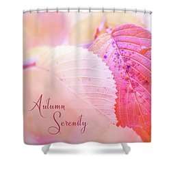 Autumn Serenity Shower Curtain