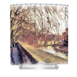 Autumn Shower Curtain by Sergey Simanovsky