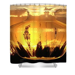 Shower Curtain featuring the photograph Autumn Spirits by Joyce Dickens