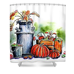 Autumn Still Life 1 Shower Curtain