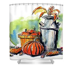 Autumn Still Life 2 Shower Curtain