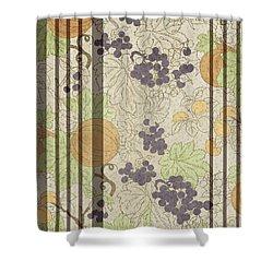 Autumn Sunflower Digital Illustration Shower Curtain by Heinz G Mielke