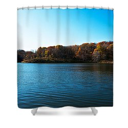 Autumn The In Loess Hills Shower Curtain