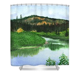 Autumn Transition Shower Curtain