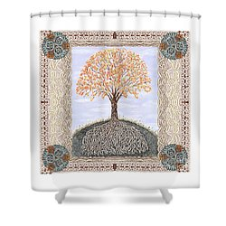 Autumn Tree Of Life Shower Curtain