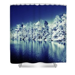 Autumn Turned Winter Shower Curtain