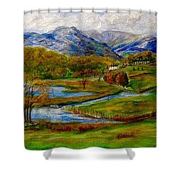Autumn View Of The Trossachs Shower Curtain
