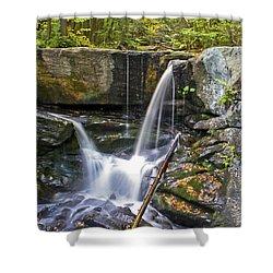 Autumn Waterfall Shower Curtain
