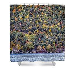 Autumn Waterside Shower Curtain