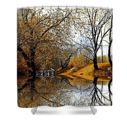 Autumnal Shower Curtain by Elfriede Fulda