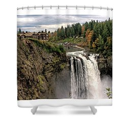 Autumnal Falls Shower Curtain by Chris Anderson