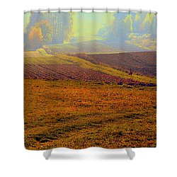 Autumnal Fogs Shower Curtain