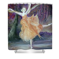 Autumnal Spirit Shower Curtain