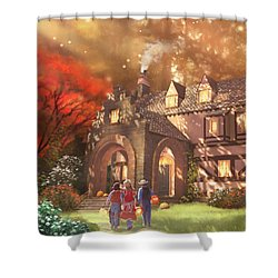 Autumnhollow Shower Curtain