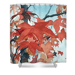 Autumn's Artistry Shower Curtain