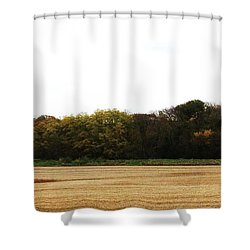 Shower Curtain featuring the photograph Autumn's Blanket by J L Zarek