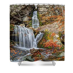 Autumns End Shower Curtain