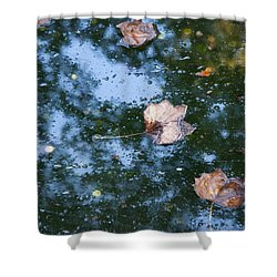 Autumn's Here Shower Curtain