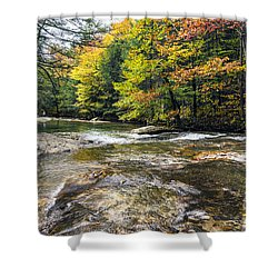 Autumns Kiss Shower Curtain