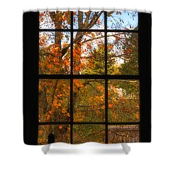 Autumn's Palette Shower Curtain by Joann Vitali
