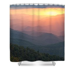 Shower Curtain featuring the photograph Autumn's Promise by Doug McPherson