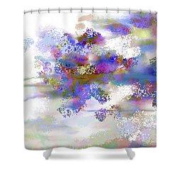 Ava Sprite Shower Curtain by Constance Krejci