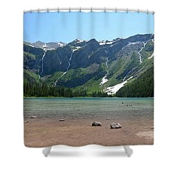Avalanche Lake Shower Curtain