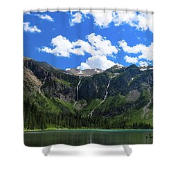 Avalanche Lake Shower Curtain