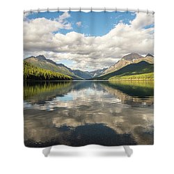 Avenue To The Mountains Shower Curtain