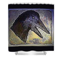 Avian Shower Curtain by Steamy Raimon