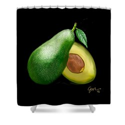 Avocado Shower Curtain