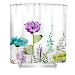 Avril  Shower Curtain