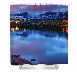 Awaiting Dawn Shower Curtain by John De Bord