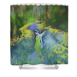Awaken To Realize Your Dream Shower Curtain