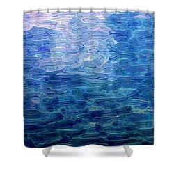 Awakening From The Depths Of Slumber Shower Curtain by David Lane