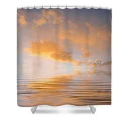 Awakening Shower Curtain by Jerry McElroy