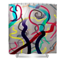 Awareness Shower Curtain