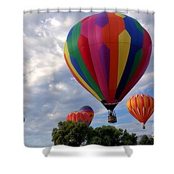 Away Shower Curtain