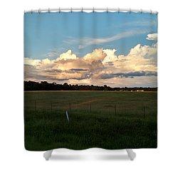 Awe Inspiring Shower Curtain by Audrey Van Tassell