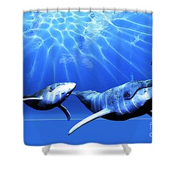 Awesome Shower Curtain by Corey Ford