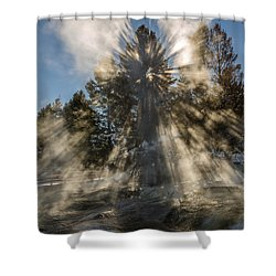 Awestruck Shower Curtain by Sue Smith