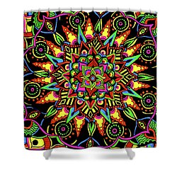 Axis Of Change Shower Curtain