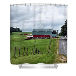 Ayrhill Farm No. 1 - The Berkshires Shower Curtain
