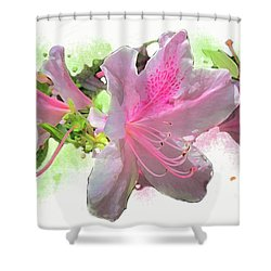 Azalea #2 Shower Curtain