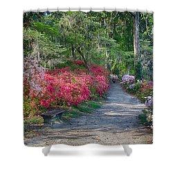 Azalea Path Shower Curtain