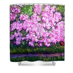 Azalea Spring Shower Curtain