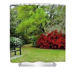 Azalea Time Shower Curtain