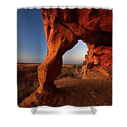 Aztec Butte Shower Curtain