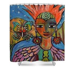 Aztec Princess Shower Curtain