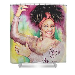 Azucar Celia Cruz Shower Curtain